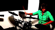 Mary Ann Young Jamming on Electronic Drums (Roland Stock Music)