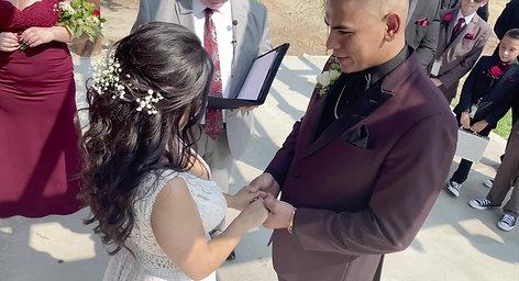 Vanessa & Romiero Ceremony Highlights