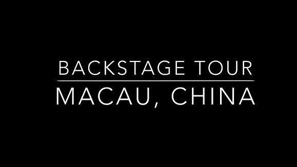 Another backstage tour