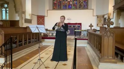 J.S.Bach - Partita No.II in D minor: Allemande