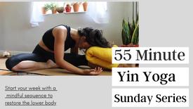 55 Minute Yin Yoga