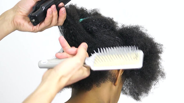 How To Detangle Natural Curly Hair