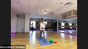 46 Min. Signature Barre_Linaya_ball & weights_10-21-20