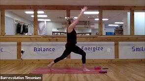 43 Min. Barre-Yoga Fusion_Tina_weights_2-25