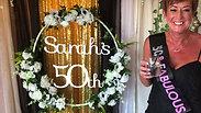 Sarah's 50th Birthday Party