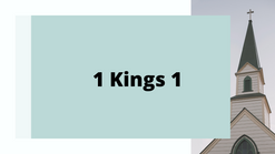 1 Kings 1