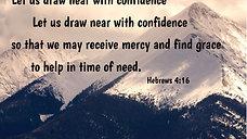 Just a Little Talk with Jesus - Hebrews 4:16