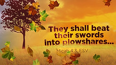 Bright Hope for Tomorrow - Micah 4:1-8