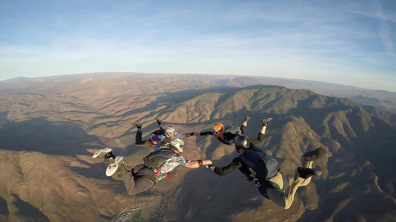 USA Jump - Eddie Glassett, Alix Shields, Bennett Geyer & Rodrigo DeAlba