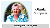 The Funeral Service for Glenda Stimpson