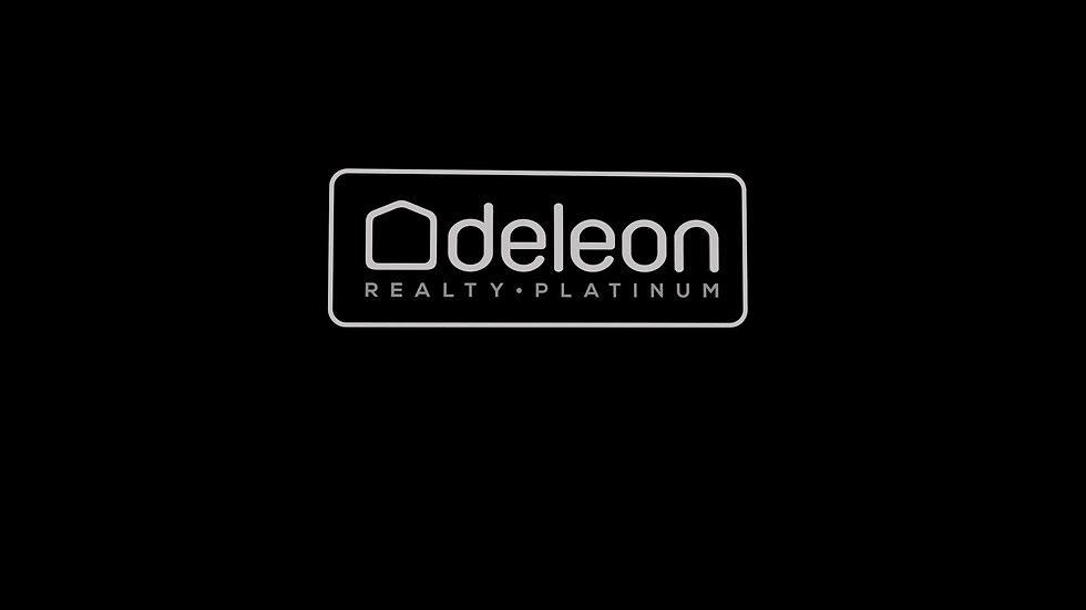 Deleon Platinum 3D Logo