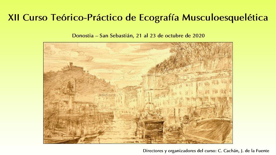 XII Curso Teórico-Práctico de Ecografía Musculoesquelética