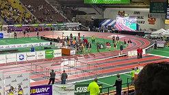 Girls 400 Meter Dash Final 1/2 Finish Simplot 2020