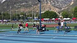 Eli Hazlett 2019 BYU Invatational 400m Champion