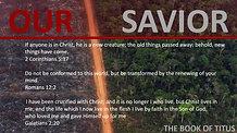 11.24.19 Titus: Be Saved