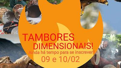 Tambores Dimensionais 2019/01 - Inscreva-se!