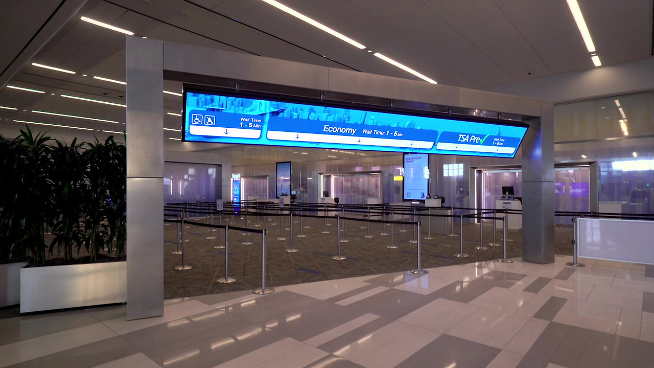 The New Terminal B Has Arrived