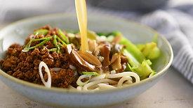 Spicy Pork & Udon Miso Soup