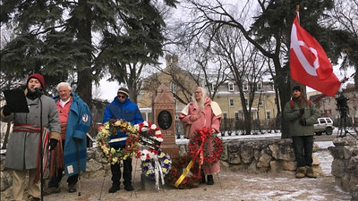 Commémorations de la tombe de Louis Riel - 2018