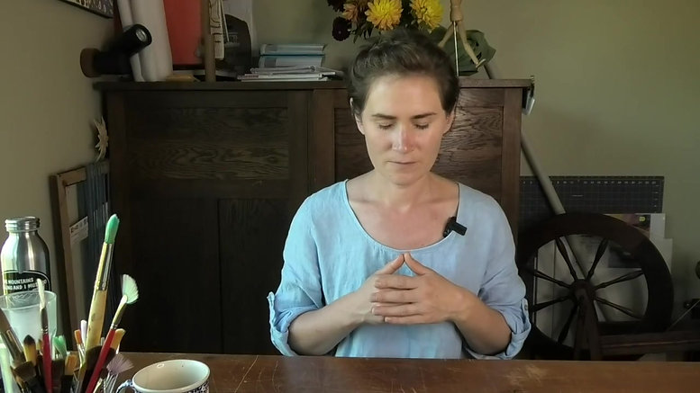 Guided Drawing Meditation