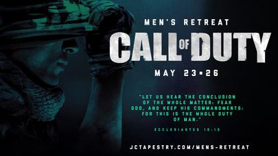 "Mens Retreat 2019 Promo ""Call Of Duty"""