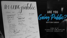 Baptism Sunday 2nd Service // February 23, 2020