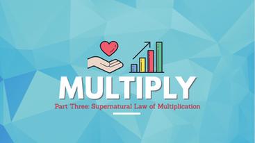 """""""Multiply Pt. 3"""" Markus Robinson // Tapestry Church // November 17, 2019"""