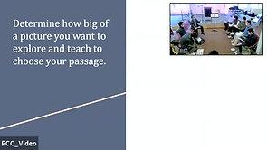 Determining Your Passage