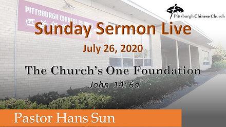 PCC English Service 07-26-2020
