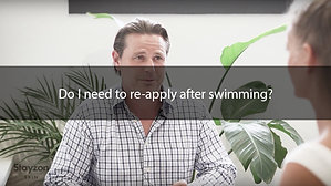 Do I need to re-apply after swimming?