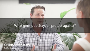What germs do Stayzon protect against?