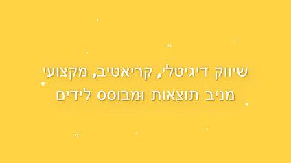 קמפיין לידים - דיגיטל