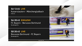GRAPHICS: Sport1 Redesign 2017