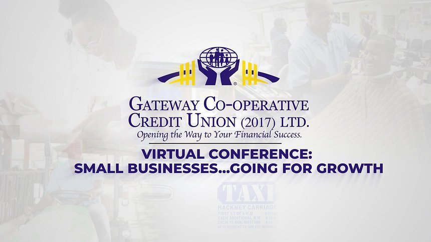 "Gateway Credit Union Virtual Conference - ""Small Businesses - Going for Growth"""