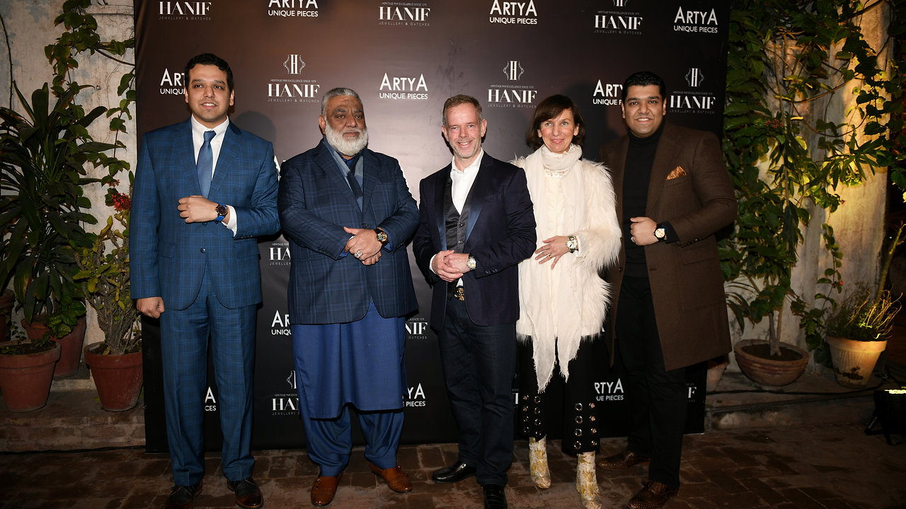 ArtyA Launch in Lahore