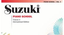 Suzuki Piano Book 4