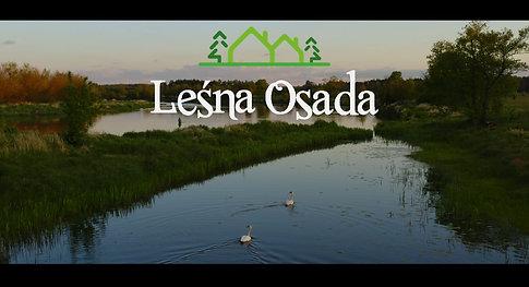 Leśna Osada - film z powietrza działek na sprzedaż