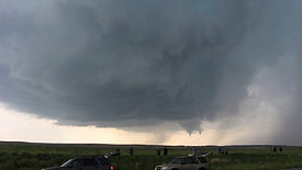 Storm Chasers and Developing Tornado