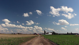 Cumulus Field and Farmhouse