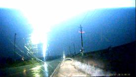 Lightning Barrage in Ontario
