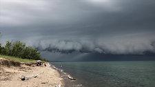 Lake Huron Storm