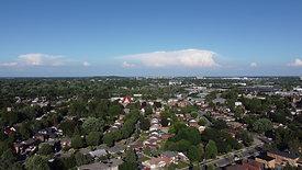 Cumulonimbus Over City