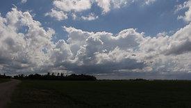 Towering Cumulus Moving Towards Camera