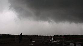 Farmers Watching Developing Tornado