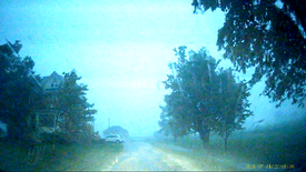 Scary Driving In Ontario Storm
