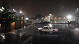 Severe Thunderstorm Hits Hotel