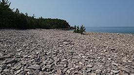 Stone Beach at Halfway Log Dump
