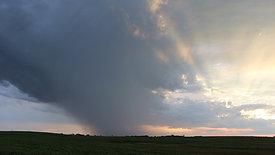Rainstorm and Sunset
