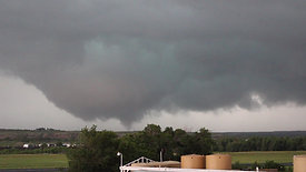 Tornado Touching Down in Distance