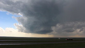 LP Supercell Over Interstate